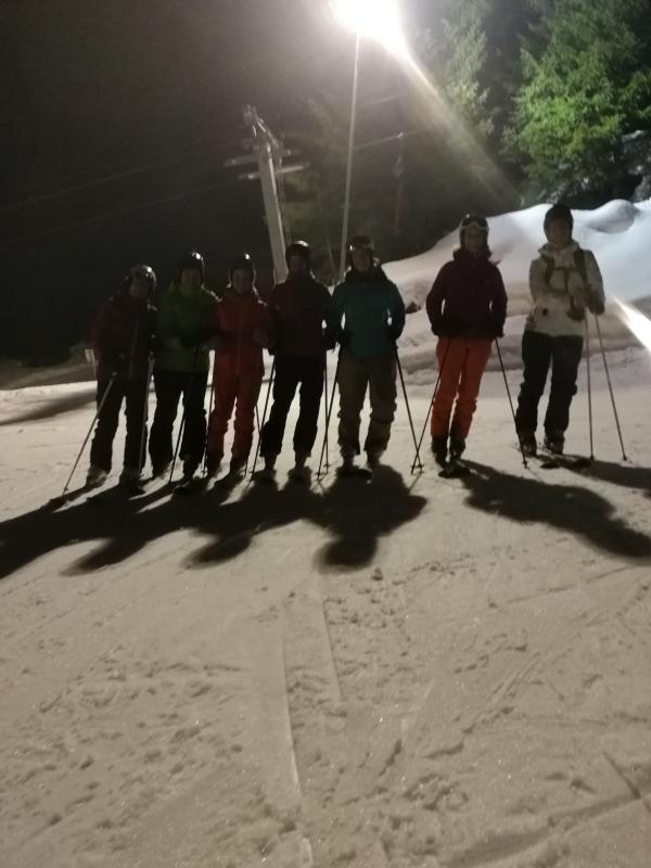 Nachtskifahren Damen Ü30