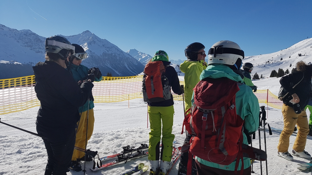 Skitag Aktive